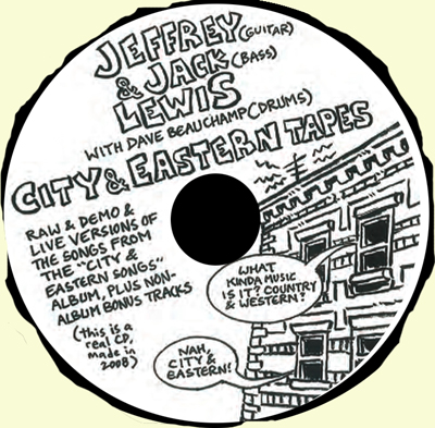 CITY & EASTERN TAPES (Demos, Live & Out-takes)