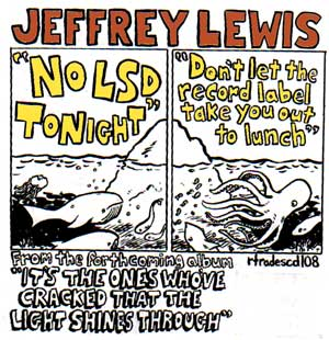 No Lsd Tonight/Don't Let The Record Label Take You Out To Lunch